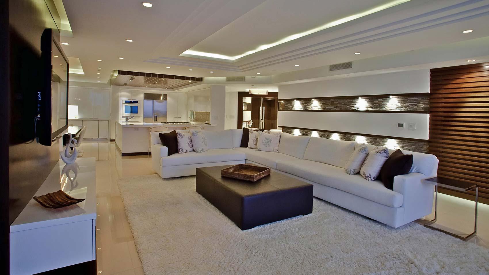 Trend corp south florida design build construction company - Plafones modernos ...